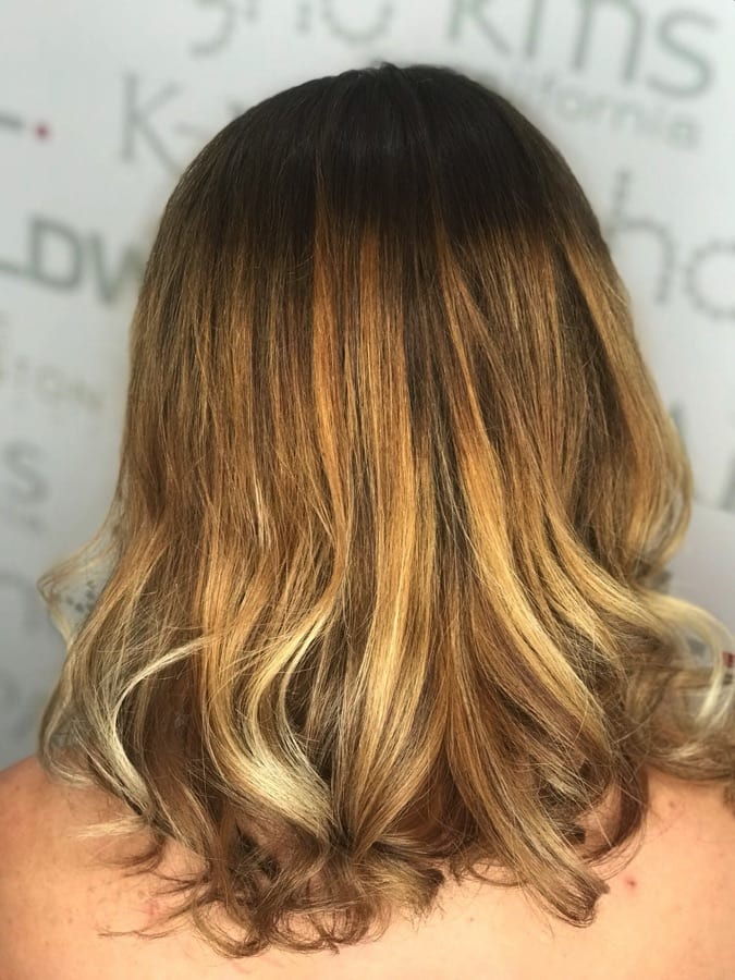 Balayage Haircut Kate Preston